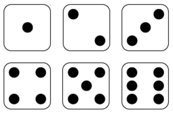 Dice and Dominoes Clipart Graphics FREE by Mrs Magee | TpT