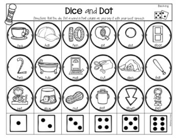 Dice and Dot For Phonology