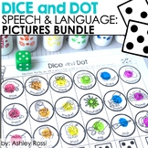 Dice and Dot For Speech and Language: PICTURES BUNDLE