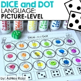 Receptive & Expressive Language | Dice & Dot | Speech Therapy Distance Learning