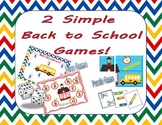 Dice and Puzzle Game for Back to School