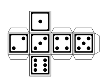 Dice for 1-12....numerals, words, tallies, ten frames, dice faces