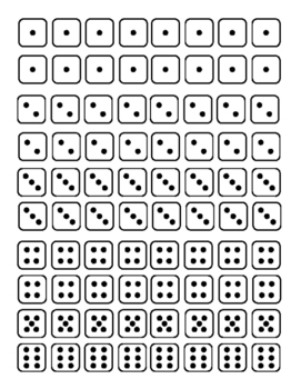 Dice for patterning