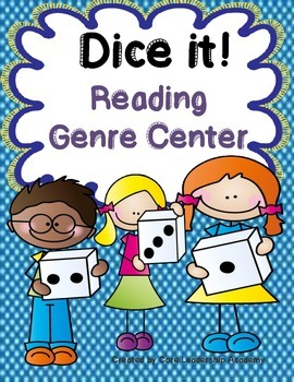 Dice it ~ Reading Genre Center