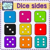 Dice sides clipart