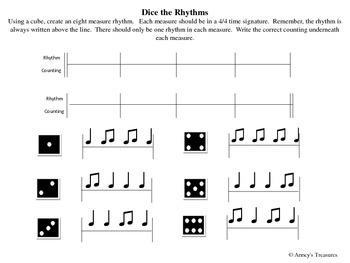Dice the Rhythms