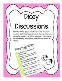 Dicey Discussions- TEAM BUILDING