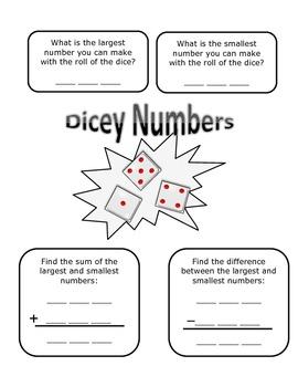 Dicey Numbers