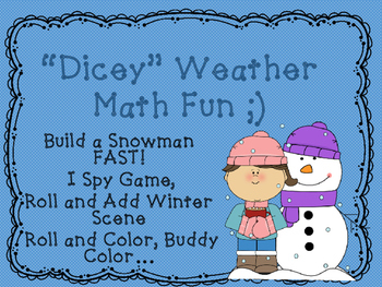 Dicey Weather Math Games