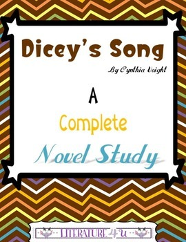 Dicey's Song A Novel Study