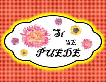 Dichos Positivos en Espanol Posters