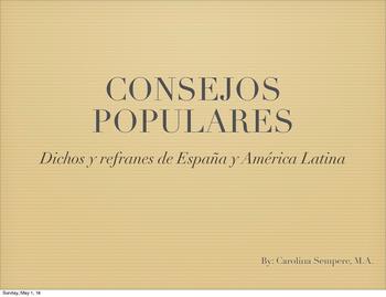 Dichos y refranes: Spanish and Latin American Proverbs