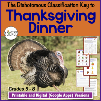 Dichotomous Classification Key to Thanksgiving Dinner