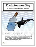 Dichotomous Key - Classification Key for Whales