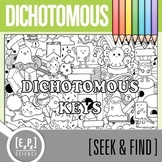 Dichotomous Key Seek and Find Science Doodle Page
