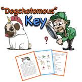 Dichotomous Key Worksheets: Learning Binomial Nomenclature (Halloween)
