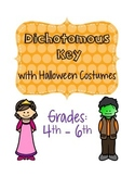 Dichotomous Key with Halloween Costumes