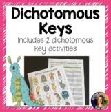Dichotomous Keys Activities