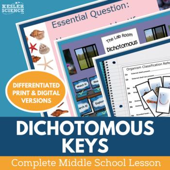 Dichotomous Keys Complete 5E Lesson Plan