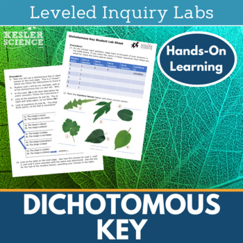 Dichotomous Key Worksheets and Inquiry Labs