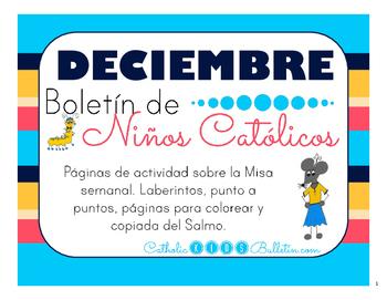 Diciembre 2016 Boletín para Niños Católicos