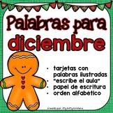 Diciembre: Palabras Para Diciembre
