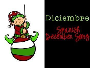 Diciembre Spanish December Song {Canción en español}