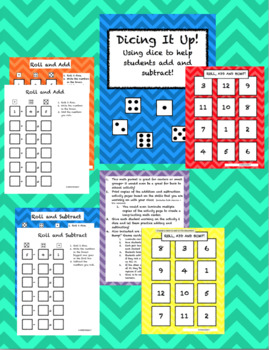 Dicing It Up- Using Dice to Help Students Add and Subtract