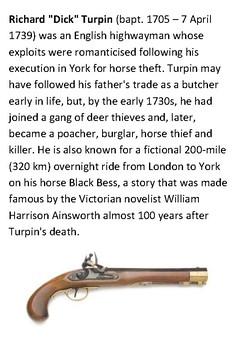 Dick Turpin Handout