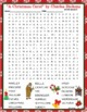 """Charles Dickens """"A Christmas Carol"""" Crossword and Word Search Find Activities"""