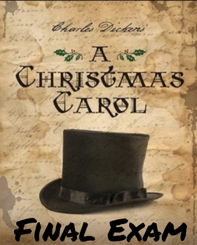 "Dickens' ""A Christmas Carol"" Final Exam (100 Multiple Choi"