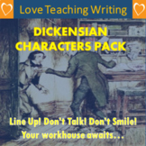Dickensian Characters Writing Pack