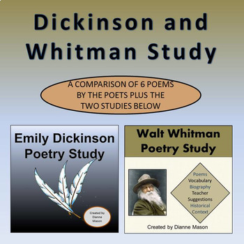 Dickinson and Whitman Study