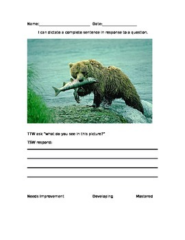 Dictating assessment
