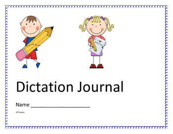 Dictation Journal Cover Page