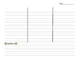 Dictation Notebook Template