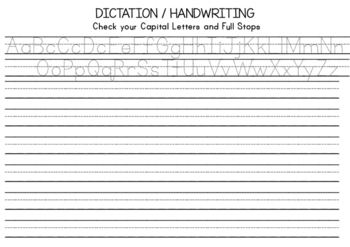 Dictation Pages