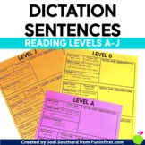 Dictation Sentences for Guided Reading