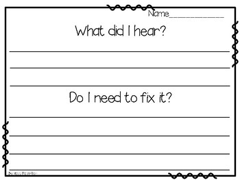 Dictation Writing FREEBIE!
