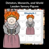 Dictators, Monarchs, and Historical World Leaders Sensory Figures