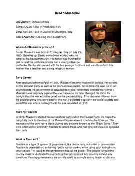 Dictators of World War II