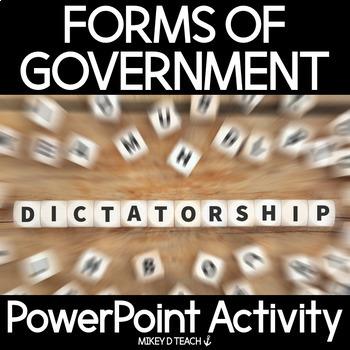Dictatorship Bundle - EDITABLE