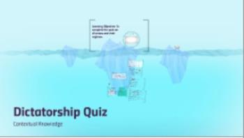 Dictatorship Quiz