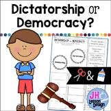 Dictatorship or Democracy? Cut and Paste