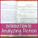 Diction Lesson - Geraldo No Last Name - Sandra Cisneros