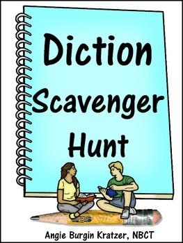 Diction Scavenger Hunt