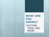 Tone, Mood & Diction (Keynote)