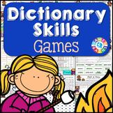 Dictionary Skills Activities {No-Prep Games}
