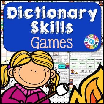 Dictionary Skills Activities: 6 Dictionary Skills Games