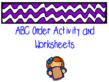 Dictionary Activities and Stations/Centers